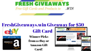 Free Giftcard Giveaway