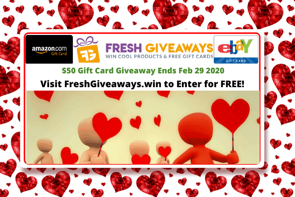 Gift Card Giveaways and Products!