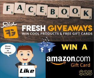 Fresh Giveaways GIft Cards